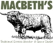 Click to visit website for Macbeths Butchers